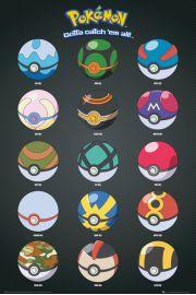 Pokemon GO Pokeballs - plakat