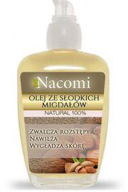 Olej ze słodkich migdałów z pompką NACOMI