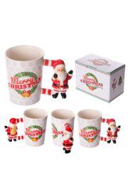 Kubek ceramiczny Święty Mikołaj