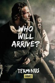 The Walking Dead Rick and Michonne Survive - plakat