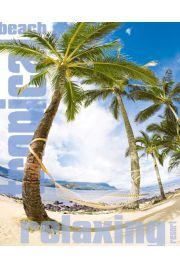 Rajska Plaża - Hamak - Tropiki - plakat