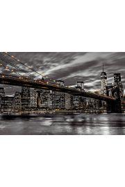 Nowy Jork Nocą Frank Assaf - plakat