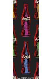 Coca-Cola - Kolorowe Butelki Pop Art - plakat