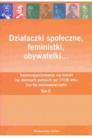 Działaczki społeczne feministki obywatelki