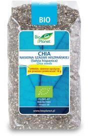 Chia - Nasiona Szałwii Hiszpańskiej Bio 400 G - Bio Planet