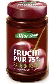 Mus Wiśniowy (75% Owoców) Bio 250 G - Allos