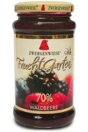 Mus Z Owoc�w Le�nych (70% Owoc�w) Bezglutenowy Bio 225 G - Zwergenwiese