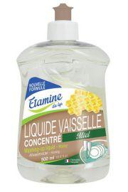 Etamine du Lys, Płyn do mycia naczyń miód i organiczny eukaliptus, 500 ml