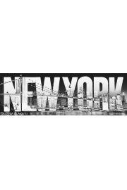 Nowy Jork Typeface - plakat