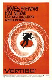Vertigo Alfred Hitchcock - plakat