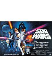 Gwiezdne Wojny Nowa Nadzieja Star Wars - plakat