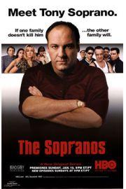 Rodzina Soprano - Tony - plakat