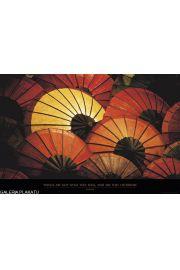Chińskie Parasole - plakat