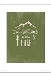 Adventure Green - art print