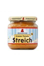 Pasta Słonecznikowa Z Ziołami I Pomidorami Bezglutenowa Bio 180 G - Zwergenwiese