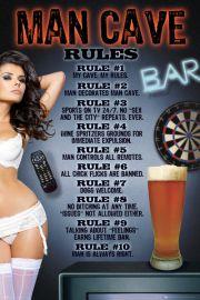 Zasady w Domu Faceta - plakat