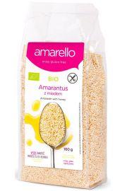 Amarantus Z Miodem Bezglutenowy Bio 160 G - Amarello