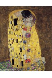 Gustav Klimt Pocałunek - plakat