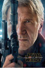Star Wars Gwiezdne Wojny Przebudzenie Mocy Han Solo - plakat