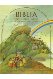 Biblia Najpi�kniejsze historie Starego i Nowego Testamentu