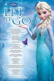 Kraina Lodu Frozen - plakat