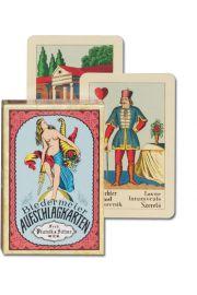 Piatnik, karty do wr�enia, 1 talia, Biedermeier