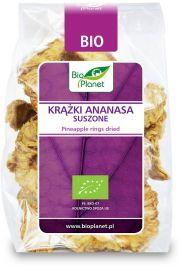 Kr��ki Ananasa Suszone Bio 100 G - Bio Planet