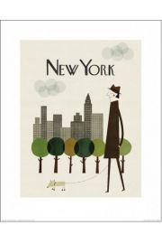 New York, Nowy Jork - reprodukcja