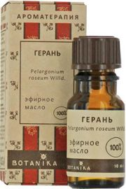 100% Naturalny olejek eteryczny Geraniowy (Geranium) 10ml BT BOTANIKA