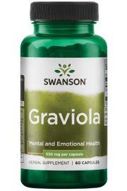Swanson Graviola 600mg 60 kaps.