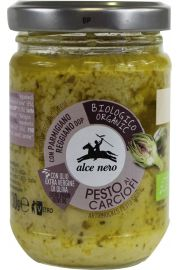 Pesto Z Karczocha Bio 130 G - Alce Nero