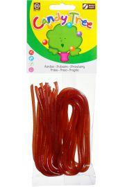 Żelki Nitki O Smaku Truskawkowym Bezglutenowe Bio 75 G - Candy Tree