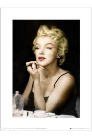 Marilyn Monroe Lipstick - art print