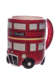 Kubek 'angielski czerwony autobu' - nowy design