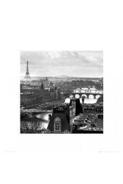 Paryż Panorama Miasta - reprodukcja