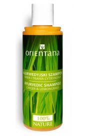 Orientana, Ajurwedyjski szampon DO WŁOSÓW Imbir i Trawa Cytrynowa, 210ml