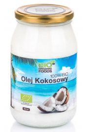 BIO Olej kokosowy rafinowany 900 ml