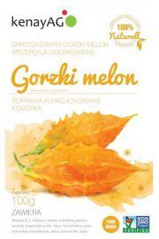 Gorzki melon, przepękla ogórkowata, sproszkowany owoc 100 g