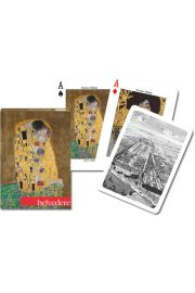 Karty do gry Piatnik 1 talia Belvedere