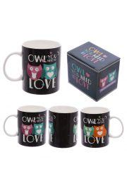 Kubek porcelanowy Owl You Need is Love - Sowa