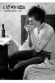 Sex Pistols - Sid ViciousChelsea Hotel - plakat