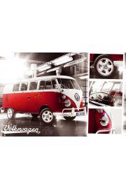 Volkswagen Camper Split Screen - plakat