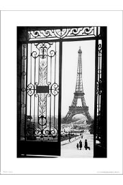 Paris Gates - art print