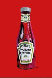 Ketchup Heinz - plakat