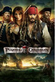 Piraci z Karaib�w na Nieznanych Wodach - plakat