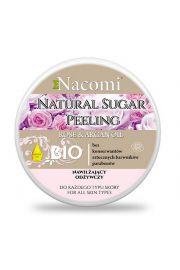 Peeling cukrowy z olejem arganowym Róża NACOMI