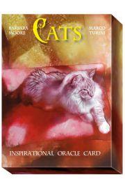 Koty. Inspirujące Karty Wyroczni, Cats. Inspirational Oracle Cards