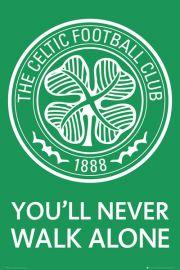 Celtic Glasgow - Godło Klubu - plakat