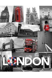 Londyn Symbole Miasta - plakat