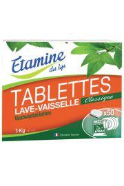 Etamine du Lys, tabletki do zmywarki bezzapachowe 50 szt, 1 kg